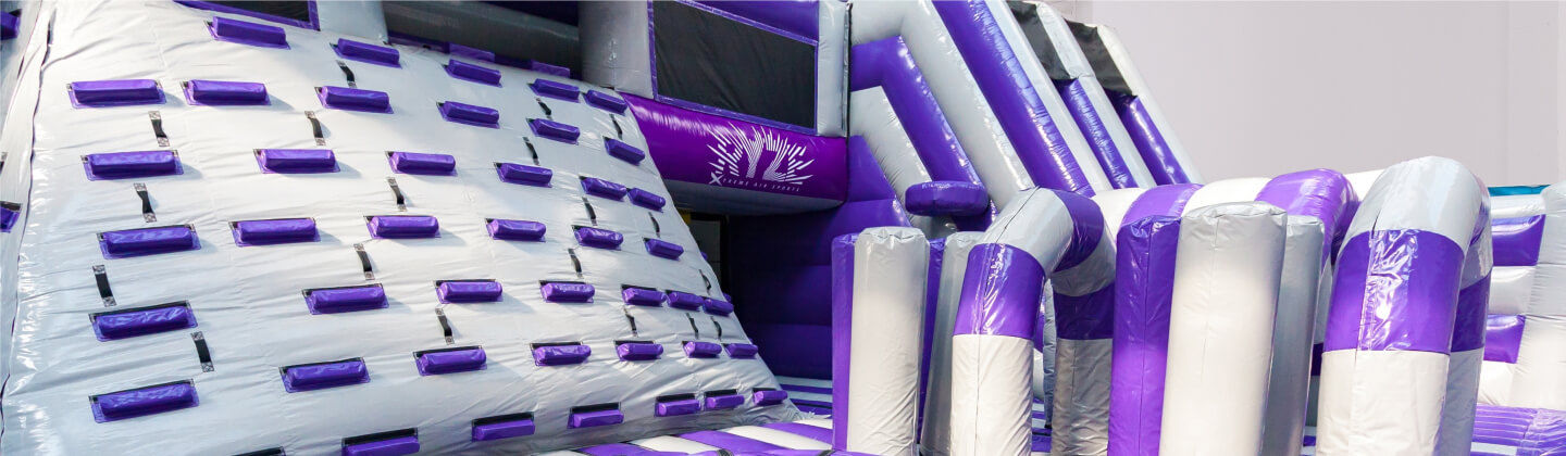 Indoor inflatable theme park