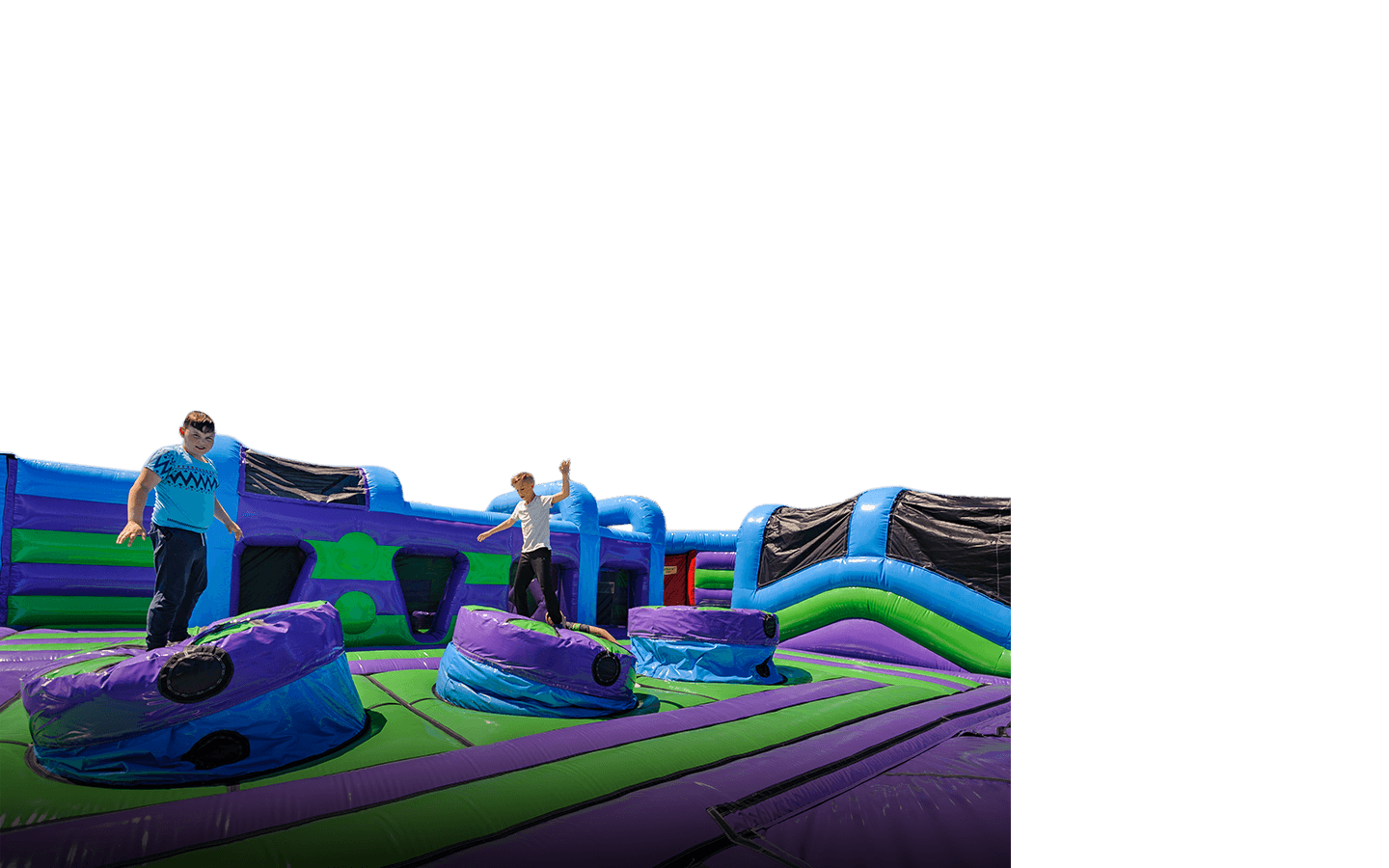 Inflatable Theme Park with Climbing wall
